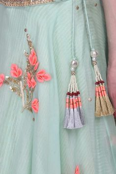 buy simple yet beautiful tassels for lehenga online