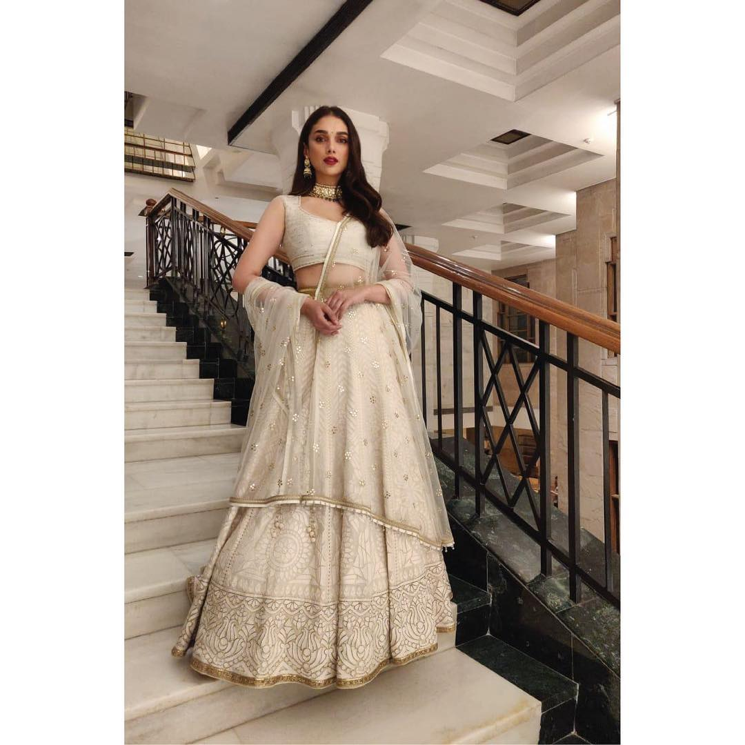 stunning ivory lehenga for the classy royal bridesmaids | Spring and Summer Wedding Trends