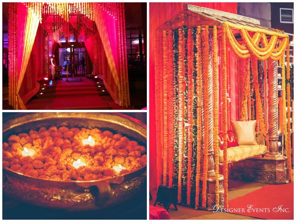 beautiful Indian wedding decor